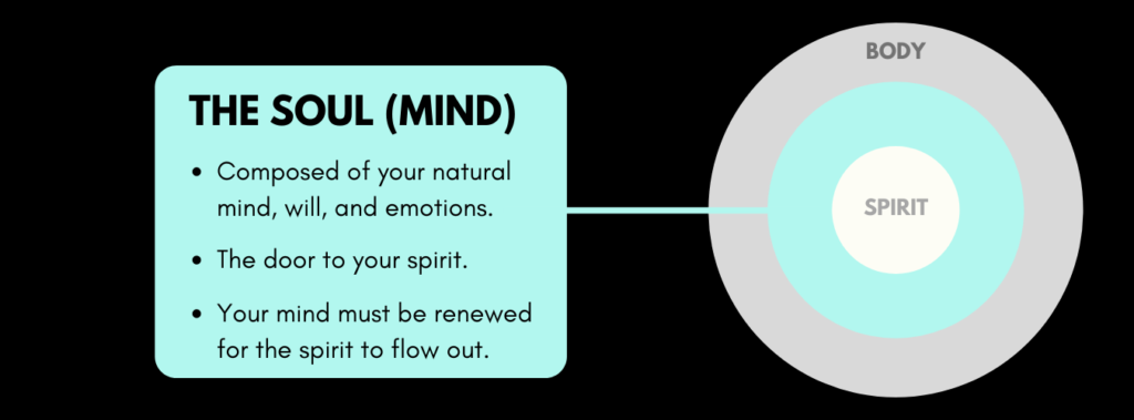 difference between soul and mind