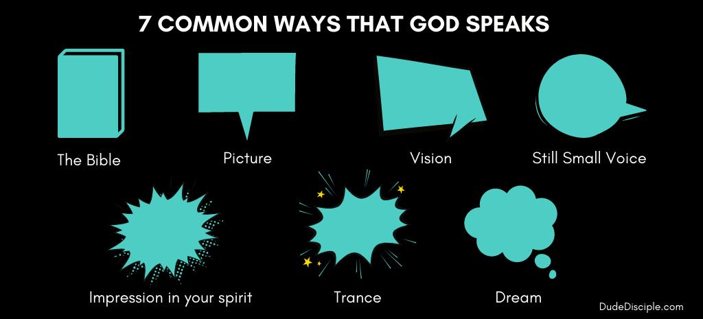 7 common ways that God speaks to us