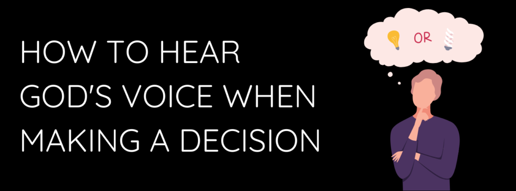 Trusting God in making decisions